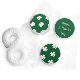 Personalized St. Patrick's Day Shamrocks Life Savers Mints