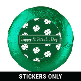 "St. Patrick's Day Shamrocks 1.25"" Stickers (48 Stickers)"