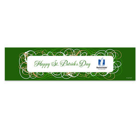 Personalized Swirls St. Patrick's Day Banner