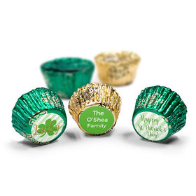 Personalized St. Patrick's Day Stripes Reese's Peanut Butter Cups (50 Pack)