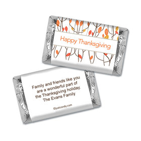 Walk in the Woods Thanksgiving Personalized Miniature Wrappers