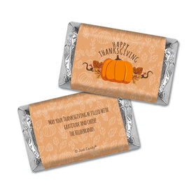 Personalized Thanksgiving Pumpkin Patch Hershey's Miniatures