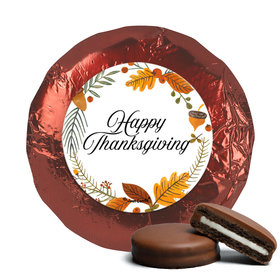 Thanksgiving Festive Leaves Chocolate Covered Oreos