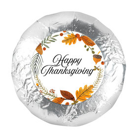"Thanksgiving Festive Leaves 1.25"" Stickers (48 Stickers)"