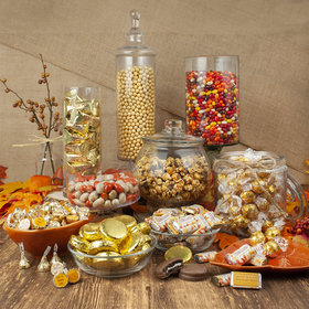 Personalized Thanksgiving Premium Candy Buffet