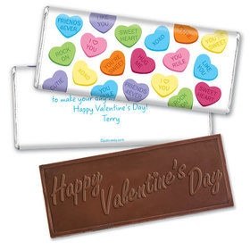 Candy Grams Candy Bar Personalized Chocolate Bar Assembled