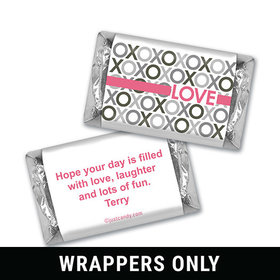 Pattern Heart Personalized Miniature Wrappers