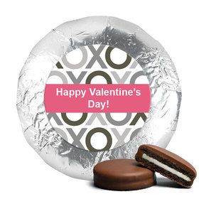 Valentine's Day XOXO Milk Chocolate Covered Oreos (24 Pack)