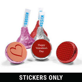 "ILY Valentine's Day 3/4"" Sticker (108 Stickers)"