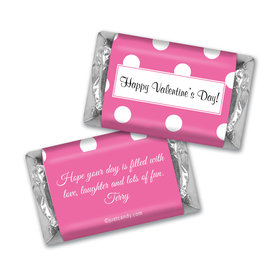 Valentine Dots MINIATURES Candy Personalized Assembled