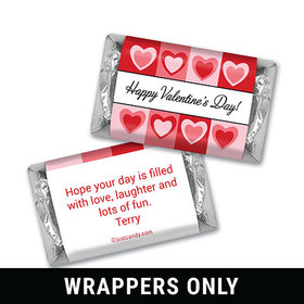 Hearty Fun Personalized Miniature Wrappers