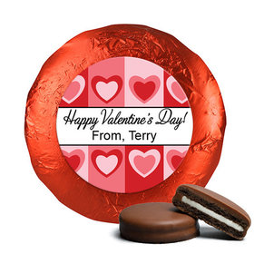 Valentine's Day Fading Hearts Chocolate Covered Oreos (24 Pack)