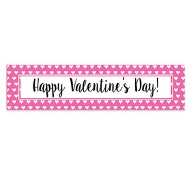 Valentine's Day Miniature Hearts Banner