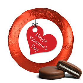 Valentine's Day Hanging Hearts Chocolate Covered Oreos