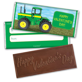 Fill in the Blank Valentine's Day Harvest Embossed Chocolate Bar & Wrapper