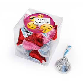 Valentine's Day Emoji Hershey's Kisses Gift Box