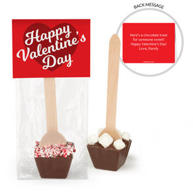 Personalized Valentine's Day Script Hot Chocolate Spoon