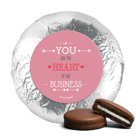 Valentine's Day Heart of Our Business Belgian Chocolate Covered Oreos (24 Pack)