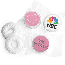 Personalized Heart of Our Business Valentine's Day Life Savers Mints