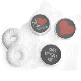 We Love Doing Business With You Valentine's Day Life Savers Mints