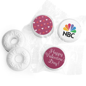 Add Your Logo Hearts Valentine's Day Life Savers Mints
