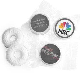 Add Your Logo Charcoal Valentine's Day Life Savers Mints