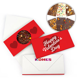 Personalized Add Your Logo Valentine's Day Gourmet Infused Belgian Chocolate Bars (3.5oz)