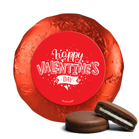 Valentine's Day Hearts and Hugs Milk Chocolate Covered Oreos