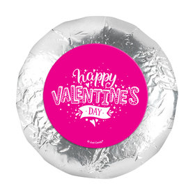 """Valentine's Day Hearts and Hugs 1.25"""" Stickers (48 Stickers)"""