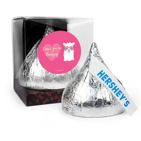 Personalized Valentine's Day Love Llama 12oz Giant Hershey's Kiss