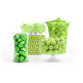 Light Green Candy Buffet