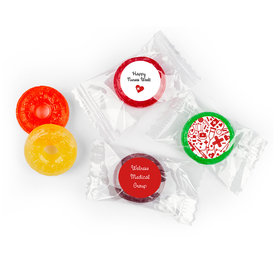 Nurse Appreciation Personalized Life Savers 5 Flavor Hard Candy First Aid Heart