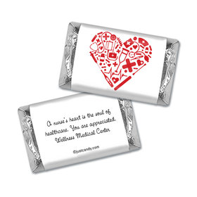 Heart of Healthcare Personalized Miniature Wrappers