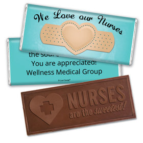 Personalized Band Aid Embossed Chocolate Bar
