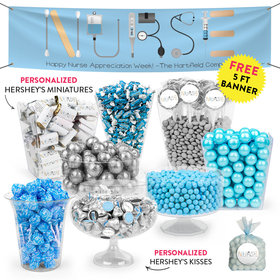 Personalized Nurse Appreciation First Aid Deluxe Candy Buffet