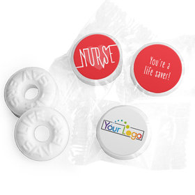 Personalized Nurse Appreciation Nurse Pulse Life Savers Mints