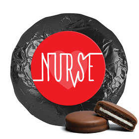 Nurse Appreciation Nurse Pulse Milk Chocolate Covered Oreo Cookies (24 Pack)