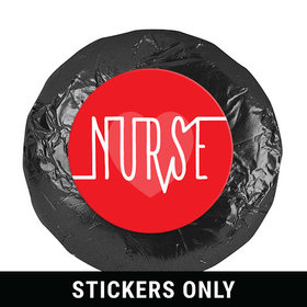 "Nurse Appreciation Nurse Pulse 1.25"" Stickers (48 Stickers)"