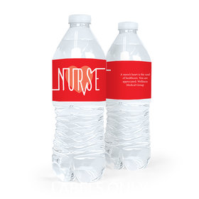 Nurse Appreciation Nurse Pulse Water Bottle Sticker Labels (5 Labels)