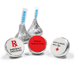 Personalized Nurse Appreciation Emergency Chocolate Hershey's Kisses Assembled (50 Pack)