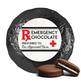 Emergency Chocolate Milk Chocolate Covered Oreo Cookies