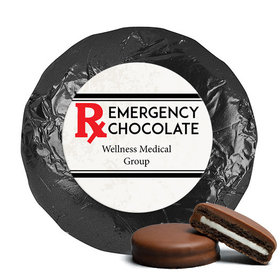 Personalized Emergency Chocolate Milk Chocolate Covered Oreo Cookies
