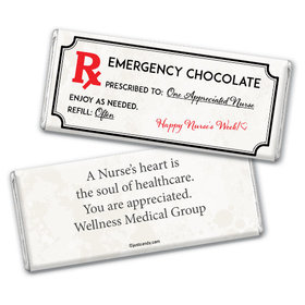 Personalized Emergency Chocolate Kit Chocolate Bar Assembled