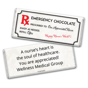 Personalized Emergency Chocolate Kit Chocolate Bar Wrappers