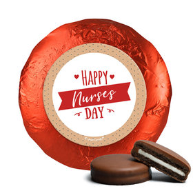 Nurse Appreciation Happy Nurses Day Chocolate Covered Oreos (24 Pack)