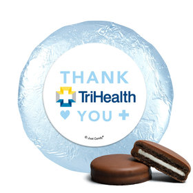 Personalized Nurse Appreciation Add Your Logo Chocolate Covered Foil Oreos s