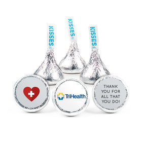 """Personalized Nurse Appreciation First Aid Heart 3/4"""" Stickers (108 Stickers)"""