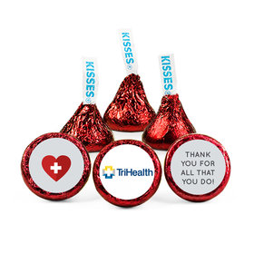 Personalized Nurse Appreciation First Aid Heart Hershey's Kisses (50 pack)