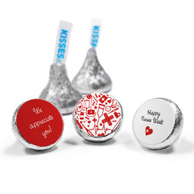 Nurse Appreciation Nurse's Heart Hershey's Kisses (50 Pack)