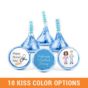 Personalized Nurse Appreciation Scrubs Hershey's Kisses (50 pack)